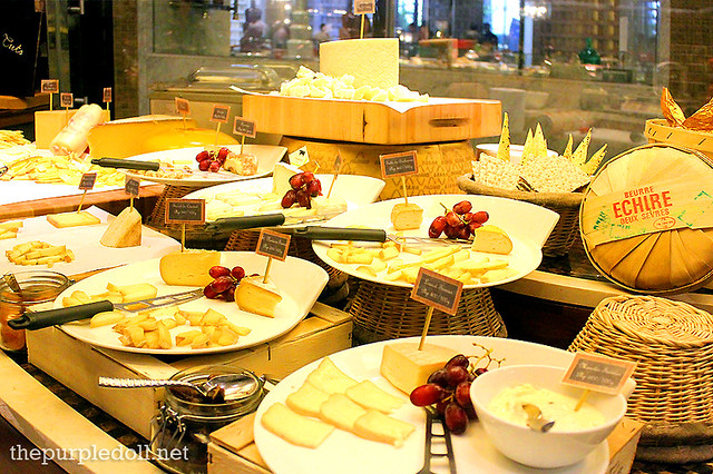 Cheeses at Spiral Sofitel Manila