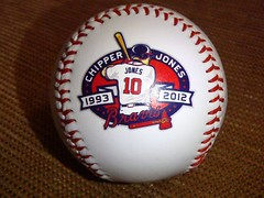 Chipper Jones Baseball