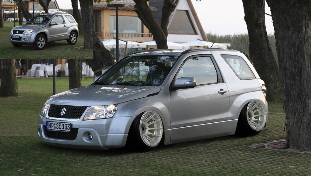 Suzuki Grand Vitara Stance