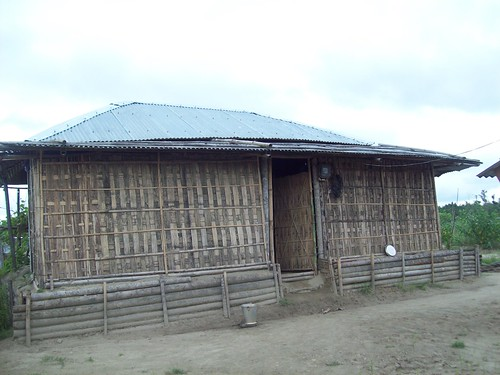 To overcome the problem of sandcasting as well as floods Rural Volunteers Centre, a local NGO based at Akajan village in Dhemaji has constructed raised houses