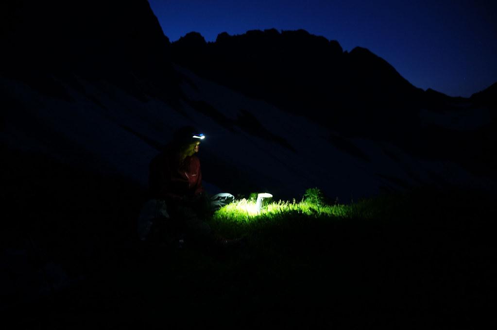 A Caldera in the mountains