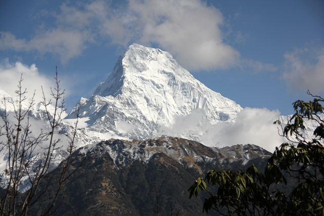 Breathtaking scenery on the Ghorepani Poon Hill trek in Nepal!