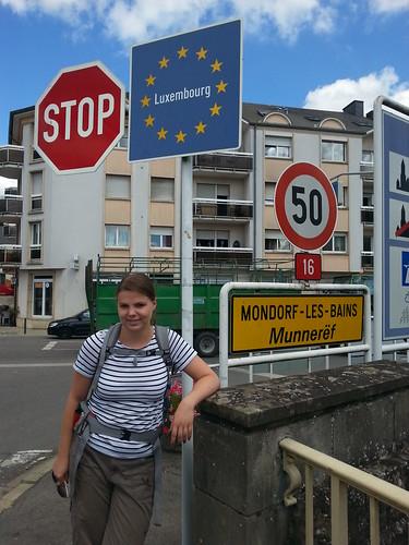 Luxembourg border,  Mondorf-Les-Bains