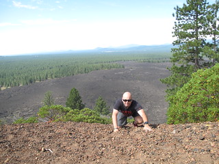 Brad at Lava Butte