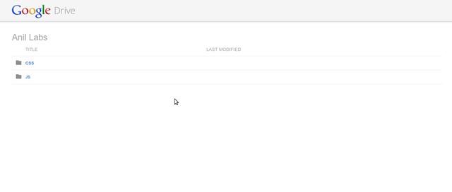 Google Drive as free CDN to your website by Anil Kumar Panigrahi - Screen 16