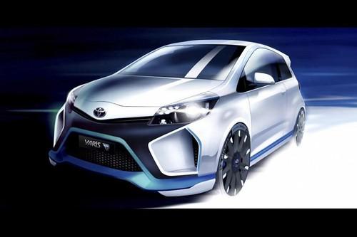 400-сильный гибрид Toyota Yaris-R сделает концепцию субкомпакта привлекательней
