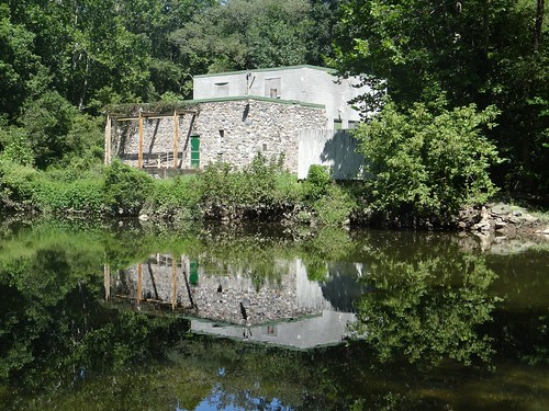 Reflection of Old Building on White Clay Creek