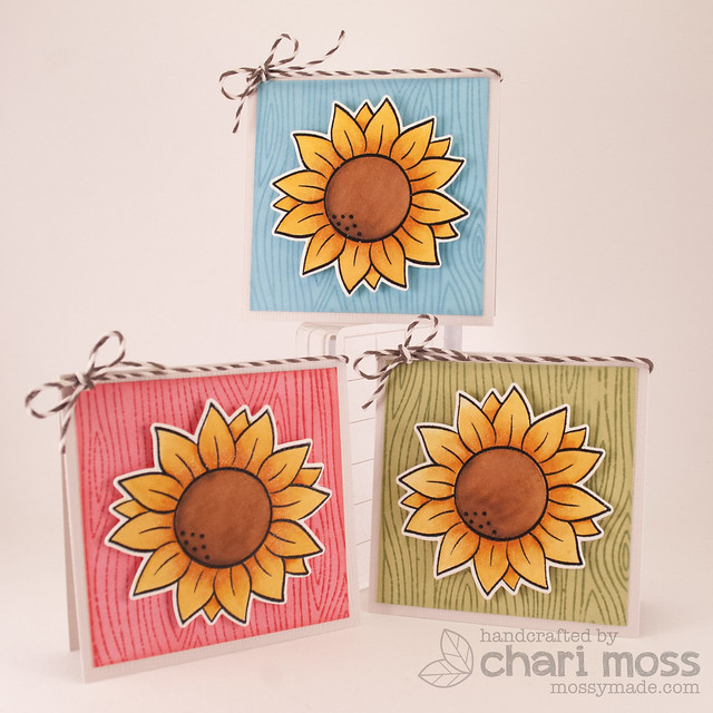 SunflowerMiniCards