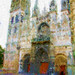 1st Place - Altered/Composite - Kenita Gibbins - Cathedral at Rouen