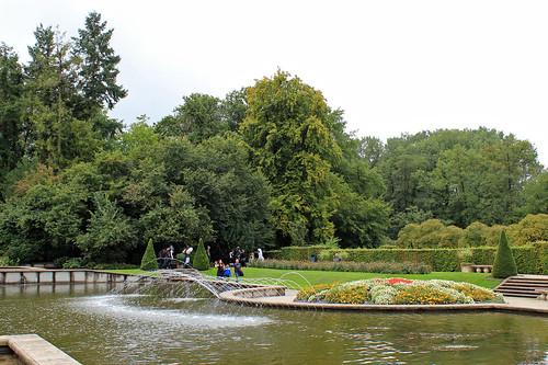 Arcen castle gardens