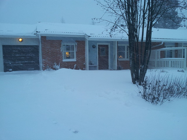My house - Dec 1 2012