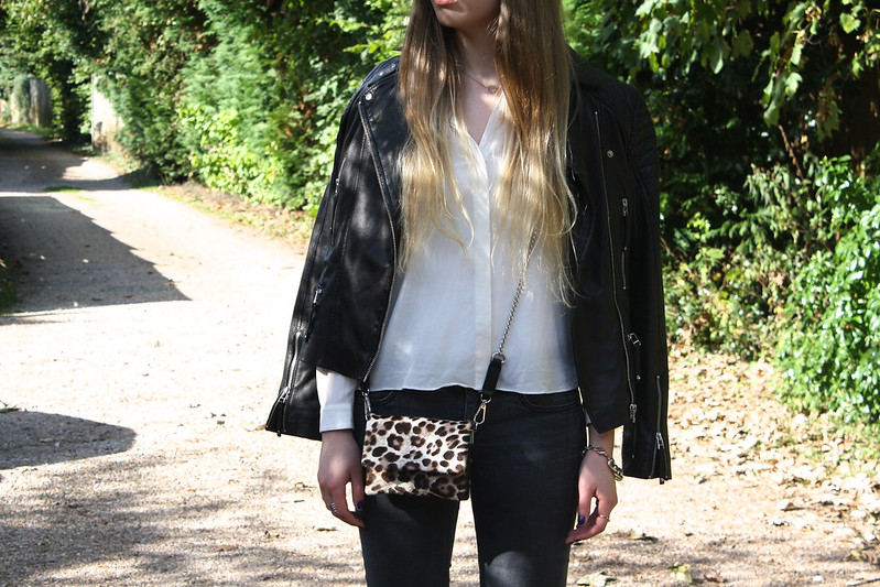 Kurt Geiger mini leopard bag