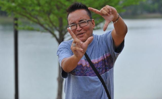 Pengarah telemovie 'Cinta Mat Semperit', Raja Ahmad Alauddin