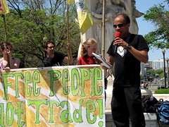 World Bank and IMF demonstration, April 26, 2009
