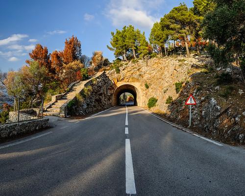 Road to Estellencs, Mallorca