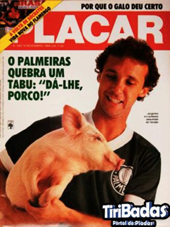 Jorginho Putinatti, um dos melhores atacantes do Palmeiras nos anos 80