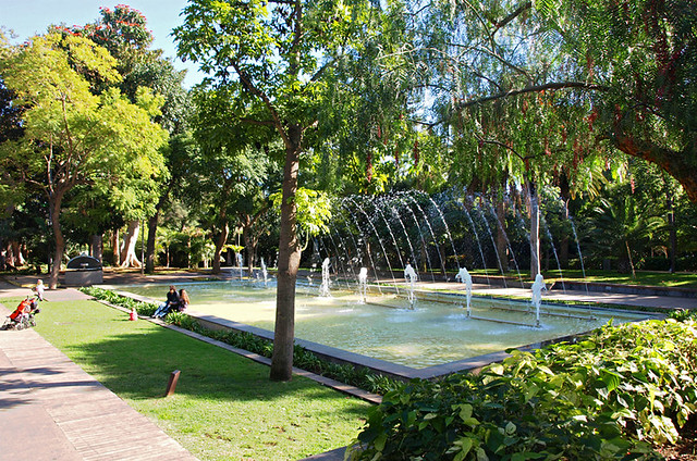 Fountain, Parque Garcia Sanabria, Santa Cruz, Tenerife