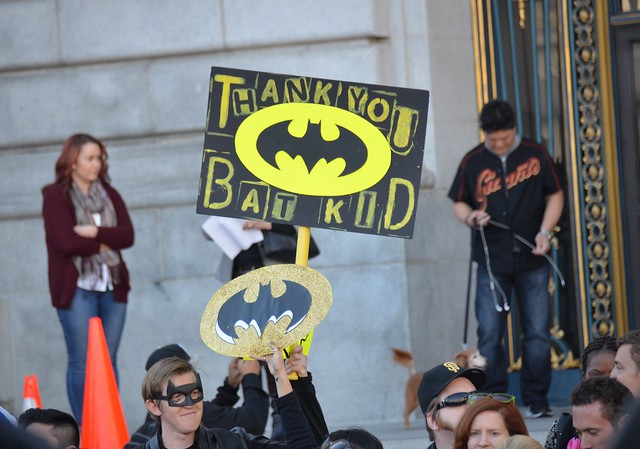 Thank you BatKid