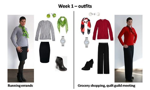 Outfits Week 1a
