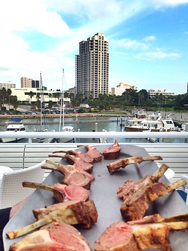 Lamb with a view prepared by Star Ship Yacht's own restaurant, can't wait for a cruise, #Clearwater Harbor