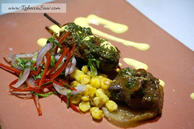 Peruvian - menu at Qba Latin Bar & Grill - rebecca saw blog-002