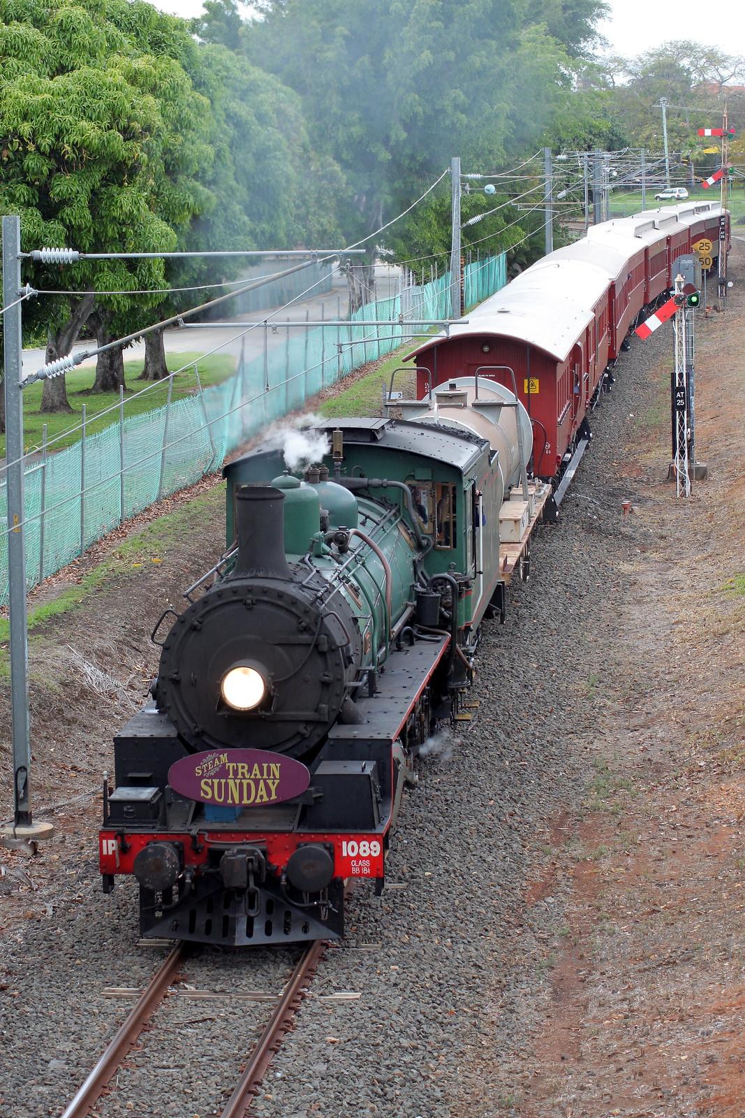 Steam Train Sunday Pinkenba by Scott S