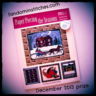 December 2013 Fandom In Stitches prize