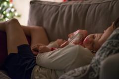 赤ちゃんと一緒に寝る時間は至福の時
