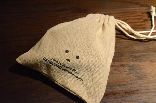 ダンボーミニバッテリー付属の袋