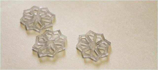 diy snowflake charm bracelet 2