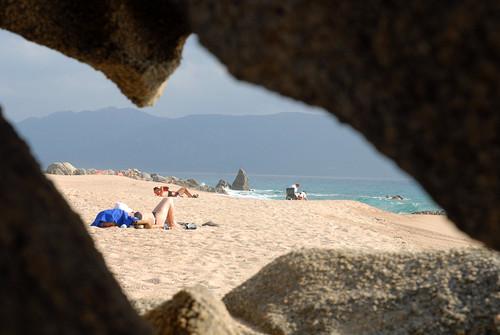 FCSconseil1 posted a photo:Rocher Olmeto Plage en Corse