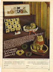 "The Charter Guild ::  ""Cat Celebrations in Crochet - "" (( 197x ))"