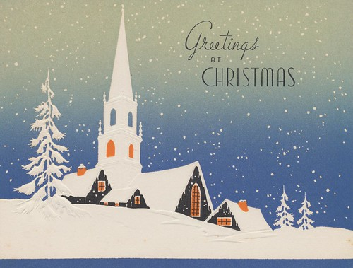 Greetings at Christmas by The Pie Shops Collection