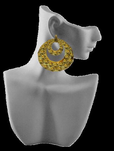 [VM] VERO MODERO  Hoop Earring by Bouquet Babii