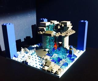 Lego Tower of Basic Elements