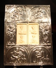 Book Cover in Aachen Cathedral Treasury