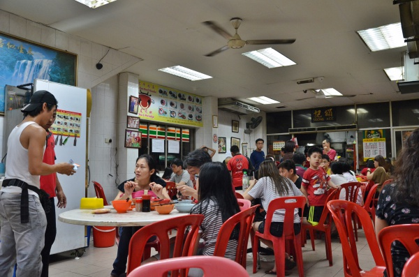 Dinner Crowd @ Soong Kee