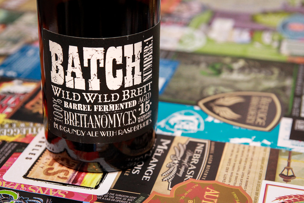 New Brew Thursday : Batch Number:1 Wild Wild Brett : Crooked Stave Brewery