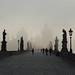 Prague: Charles Bridge in the Mist (Explored) by romanboed