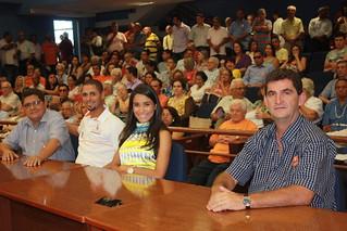 Representando a Estadual-SP do Solidariedade Paçoca, Rodrigo, Samanta e Valdir