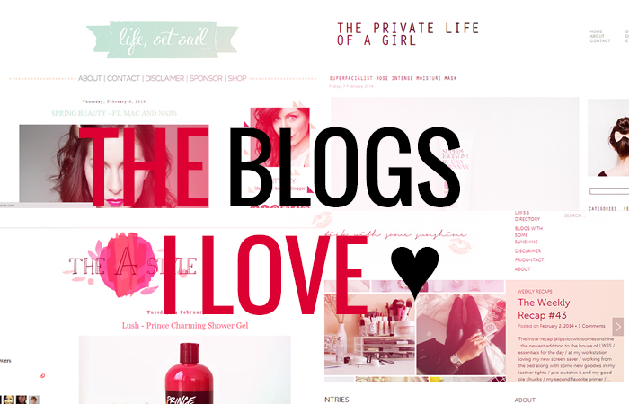 The Blogs I Love