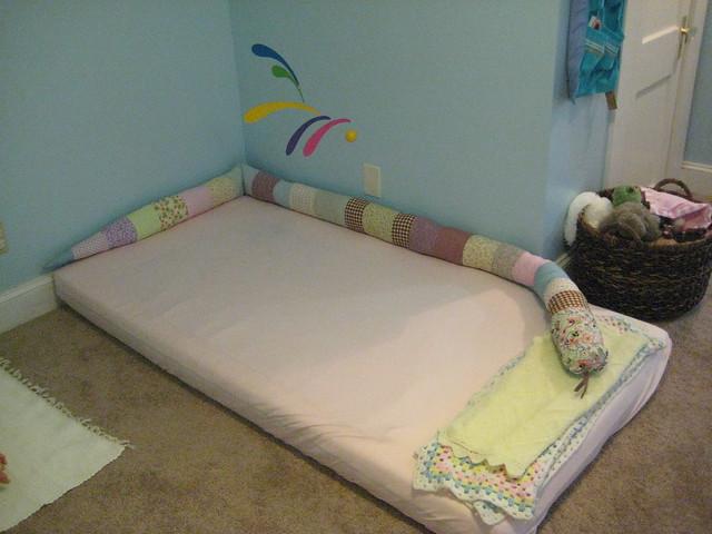 Lettino Montessori per Bambini