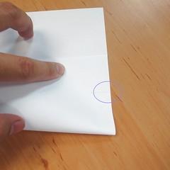 สอนการพับกระดาษเป็นที่ใส่ของรูปกลีบกุหลาบ (Rose box origami) 008