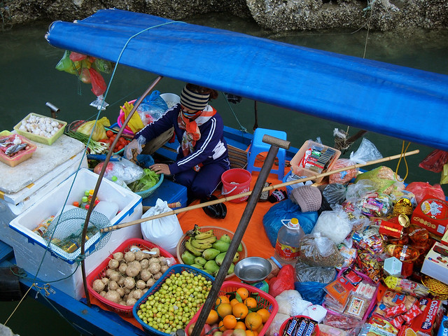 Ha Long Bay vendor