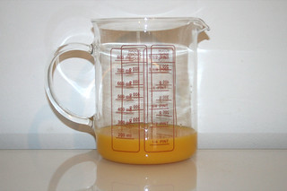 02 - Zutat Orangensaft / Ingredient orange juice