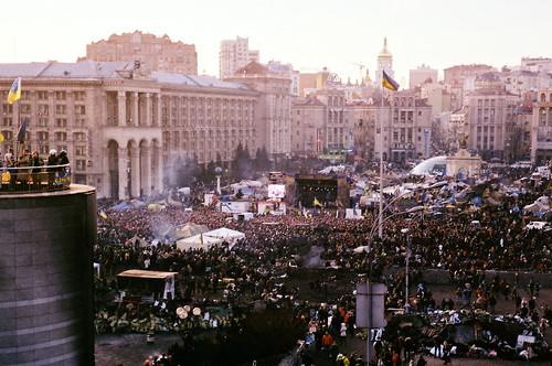 Revolution in Ukraine. 2014