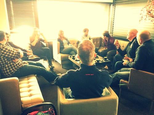 KoiQuestion Team Meeting februari 2014