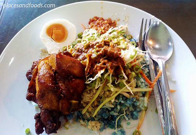 kelantan restaurant hatyai nasi kerabu