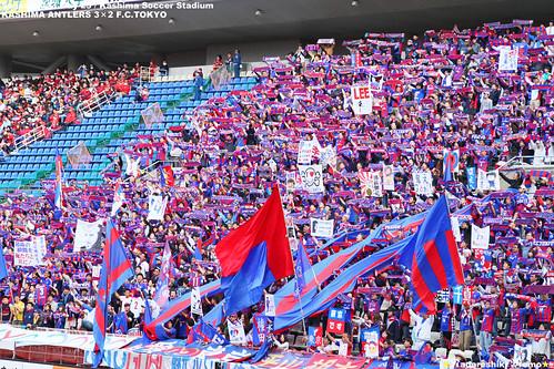 鹿島vsFC東京 FC東京ゴール裏