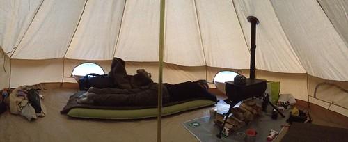 Afbeelding & Bell tent - Bushcraft Nederland